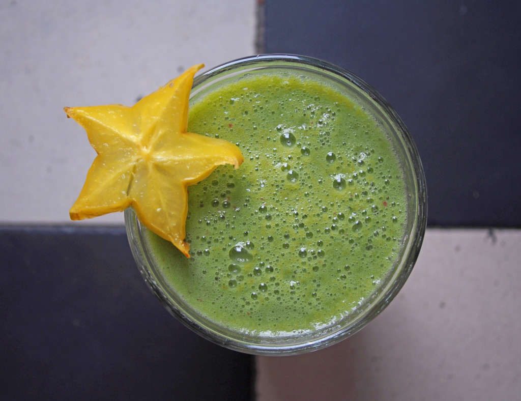 Smoothie mangue - menthe